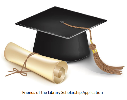 Friends of the library scholarship application.PNG